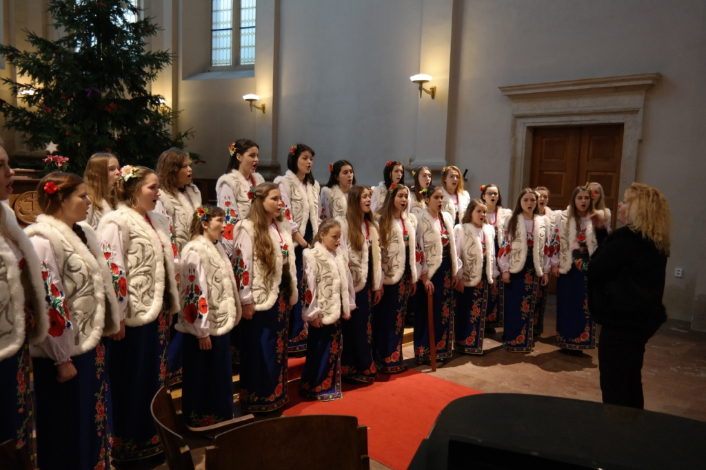 Girls Choir KSSMS Lysenko Kiev